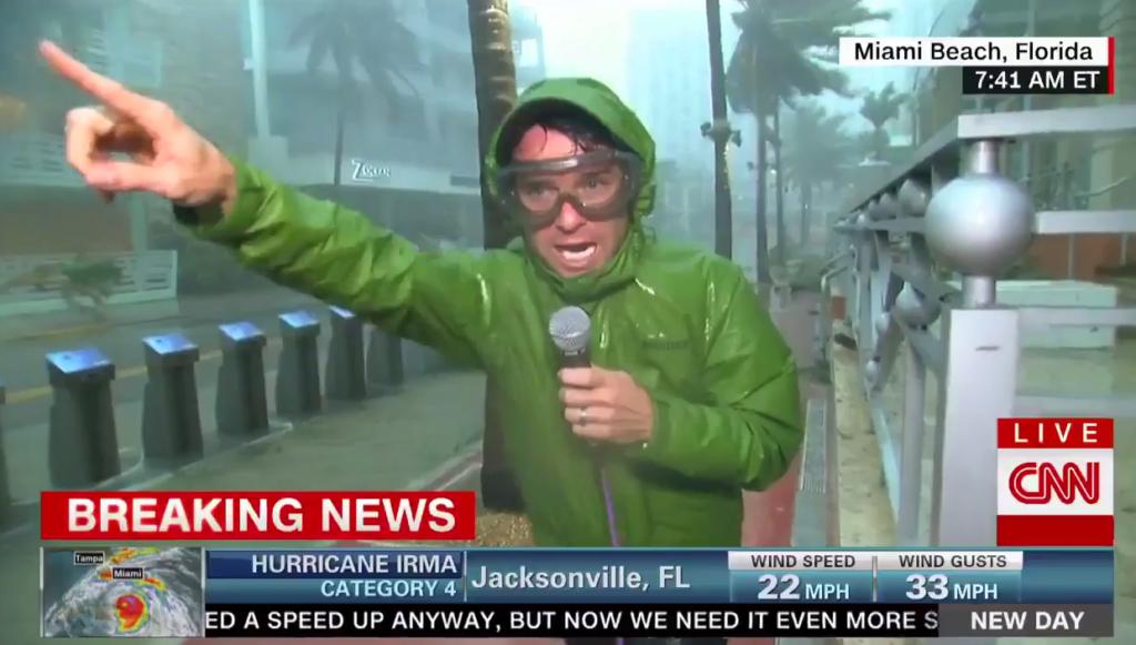 Hurricane reporting