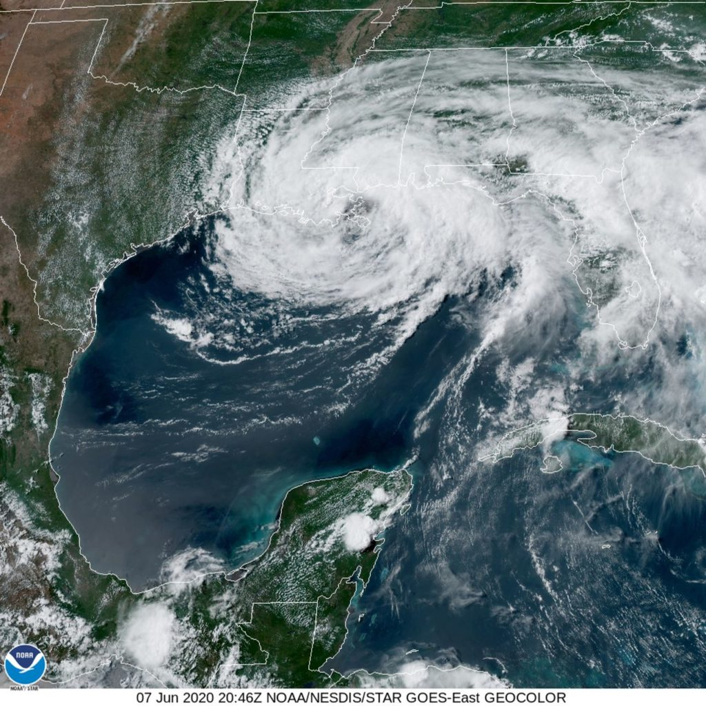 tropical storm cristobal insurance claims